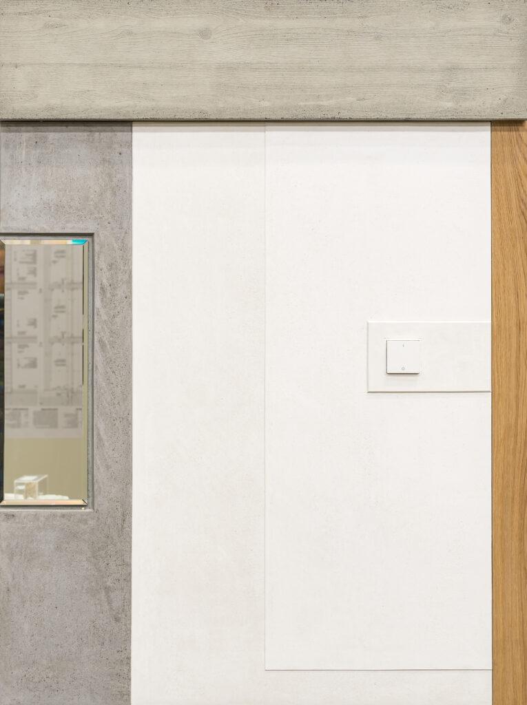 Haus Holdergasse, Verputz, Muster BE Architekten