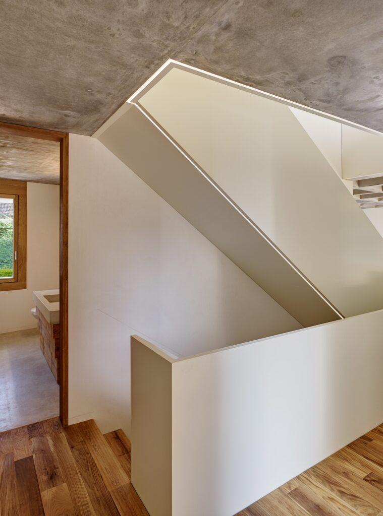 Haus Holdergasse, Stiegenhaus, BE Architekten, Olex, Marc Lins