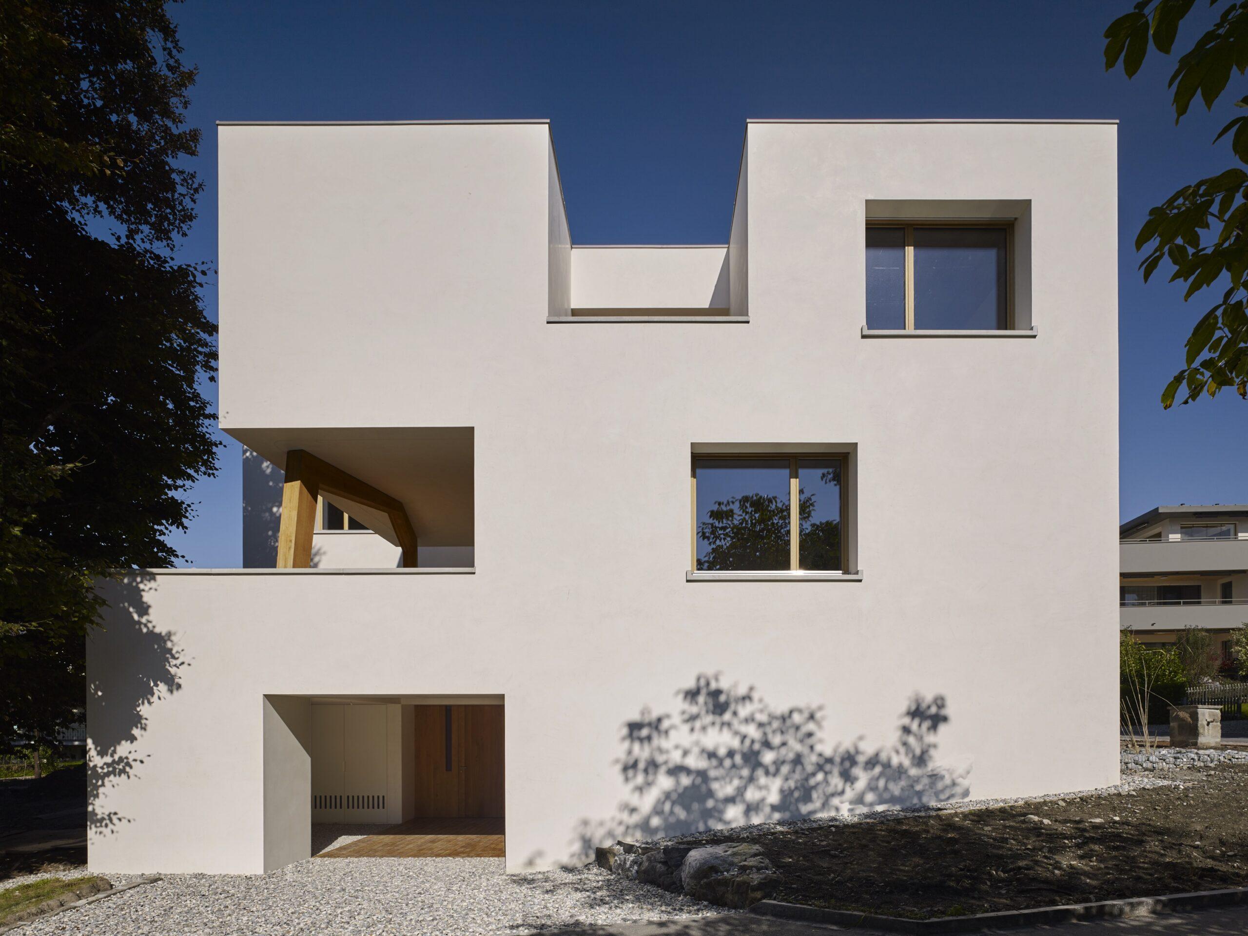 Haus Holdergasse, Fassade, BE Architekten, Olex, Marc Lins