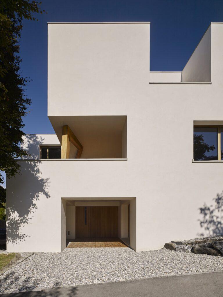 Haus Holdergasse, Verputz, Fassade BE Architekten, Olex, Marc Lins