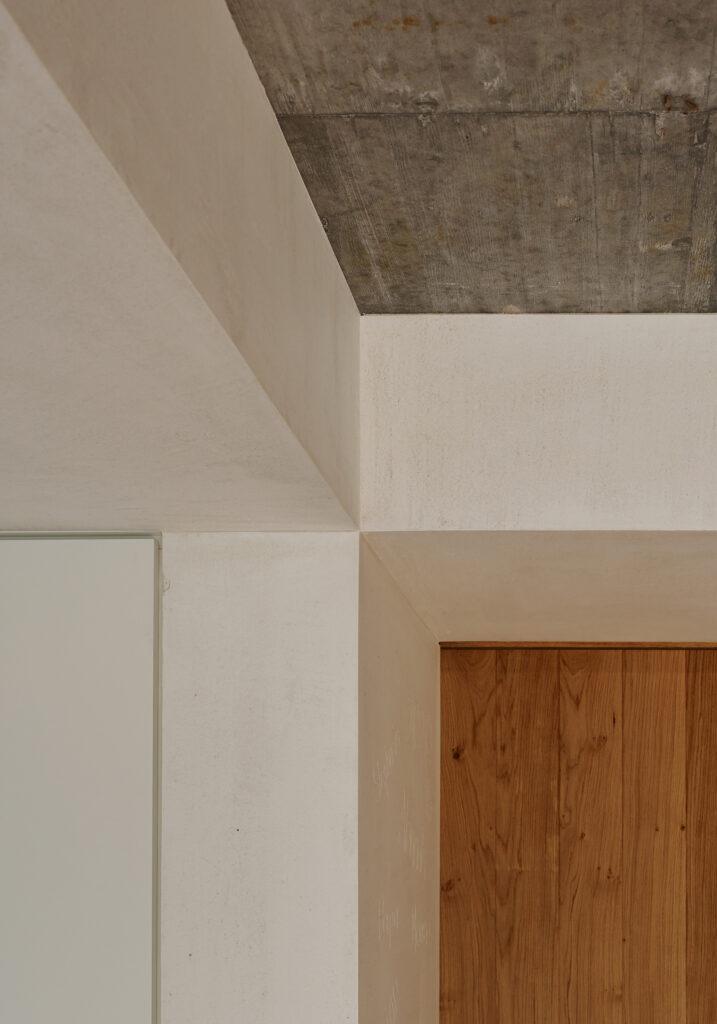 Haus Holdergasse, Verputz, Eingang, BE Architekten, Olex, Marc Lins