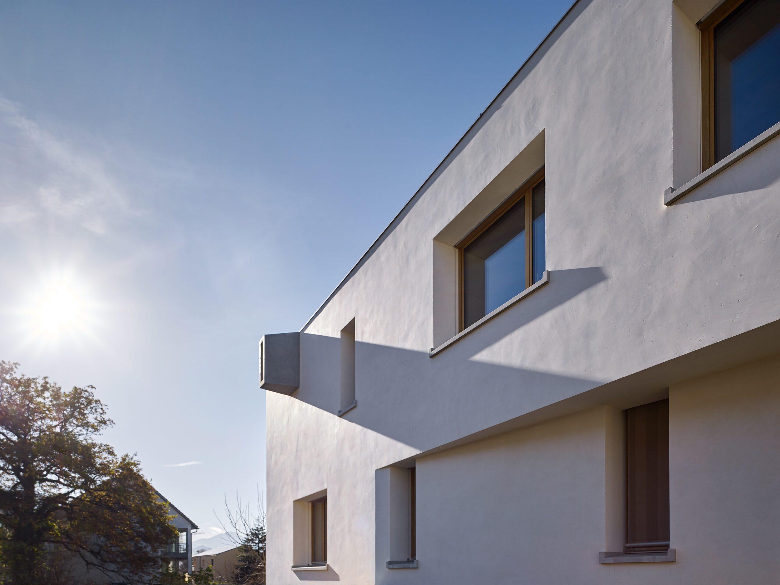 Haus Holdergasse, Fassade, Putz, Speier, BE Architekten, Olex, Marc Lins