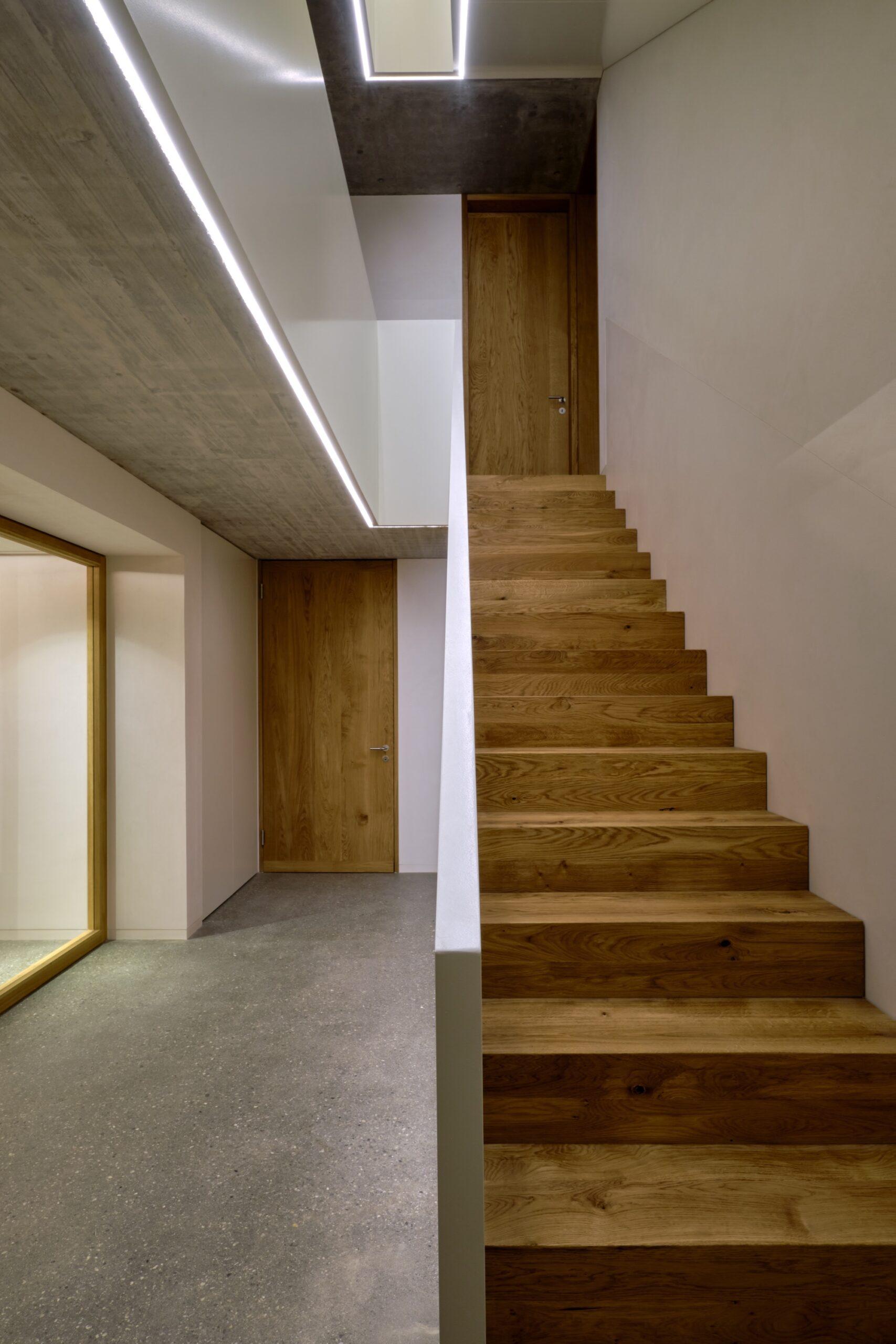 Haus Holdergasse, Eingangsbereich, Stiegenhaus, BE Architekten, Olex, Oliver Lins